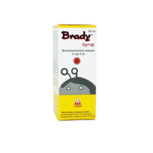 Brady Syrup 2mg/5ml - Lọ 60ml - Điều Trị Dị Ứng Hô Hấp