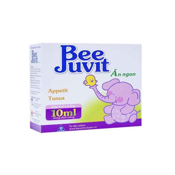 BeeJuvit Hộp 20 Ống - Giúp Bé Ăn Ngon, Hấp Thu Tốt