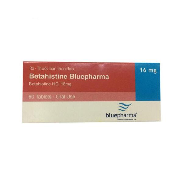 Betahistine Bluepharma Hộp 60 Viên - Điều Trị Chóng Mặt