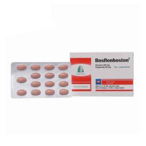 Bosflonboston Hộp 60 Viên - Thuốc Điều Trị Bệnh Trĩ
