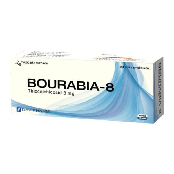 Bourabia-8 Hộp 60 Viên - Thuốc Giãn Cơ