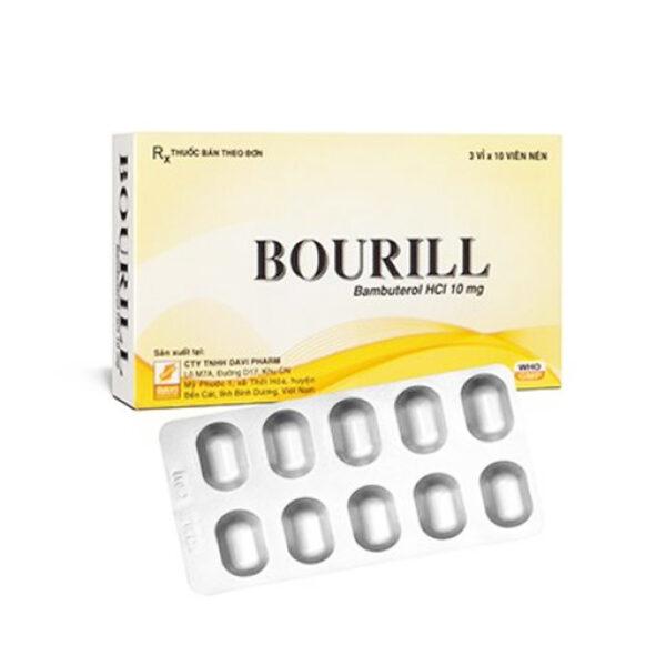 Bourill Hộp 30 Viên - Điều Trị Viêm Phế Quản