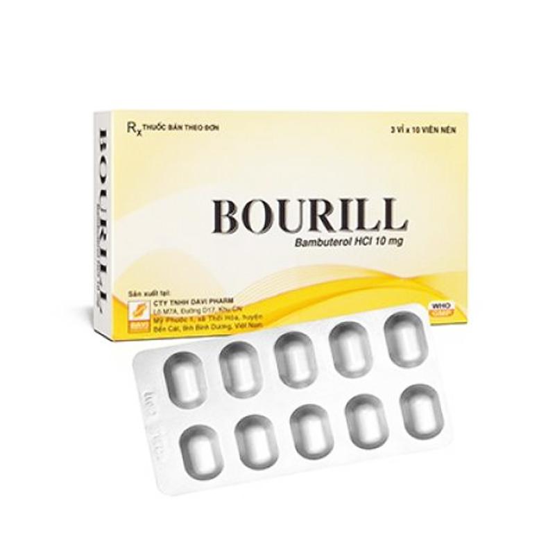 Bourill Hộp 30 Viên