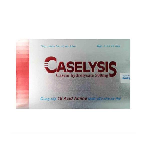 Caselysis - Hộp 30 Viên - Phục Hồi Sức Khỏe Hiệu Quả