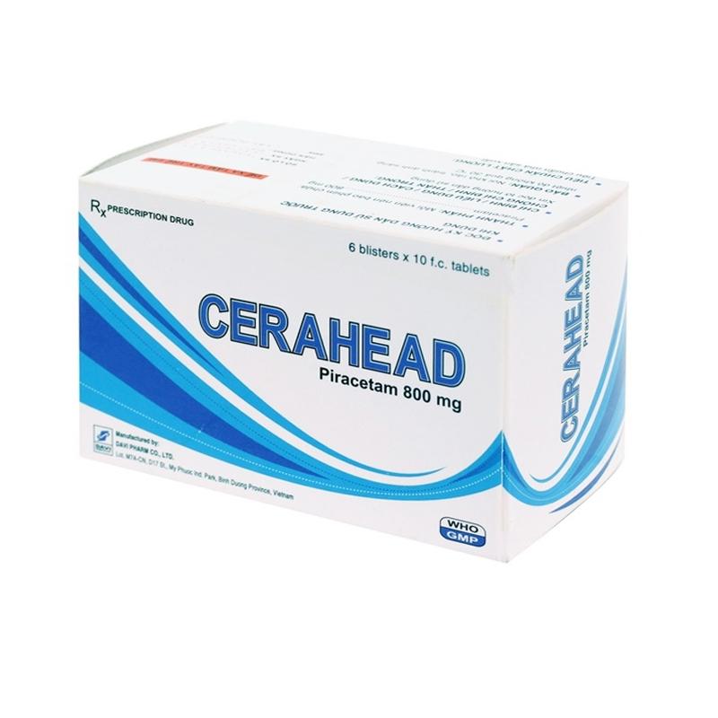 Cerahead Hộp 60 Viên