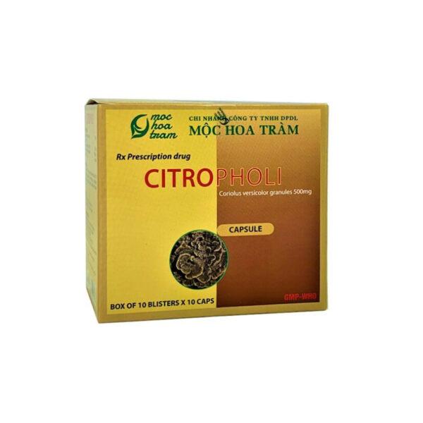 Citropholi Hộp 100 Viên - Tăng Sức Đề Kháng Bệnh Tật
