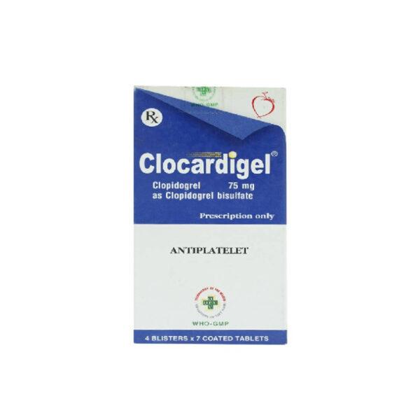 Clocardigel 75Mg Hộp 28 Viên - Dự Phòng Huyết Khối