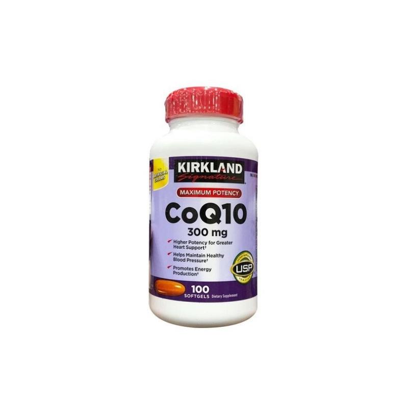 CoQ10 300mg Kirkland 100 Viên