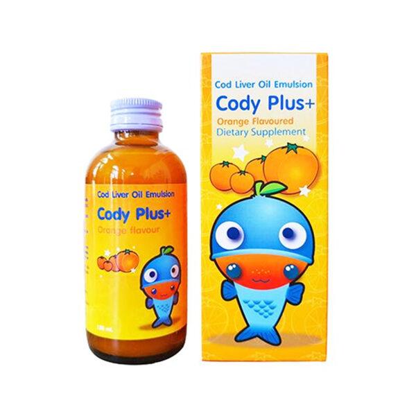 Cody Plus+ Chai 120ml - Bổ Sung Dưỡng Chất Cho Não Bộ, Mắt