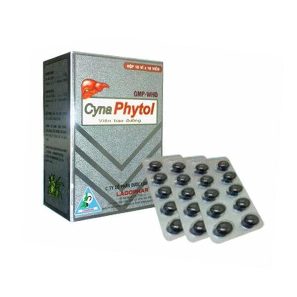 Cynaphytol - Hộp 100 Viên - Giải Độc Gan, Lợi Tiểu