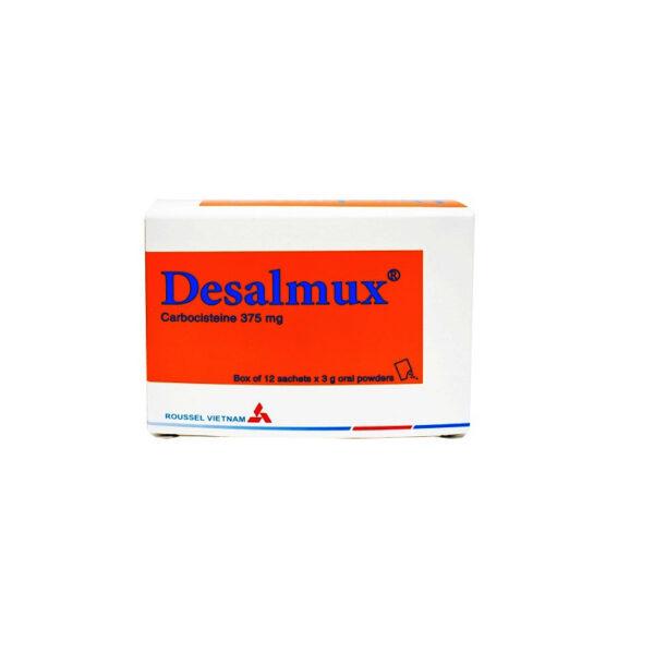 DESALMUX Hộp 12 Gói - Thuốc Long Đờm