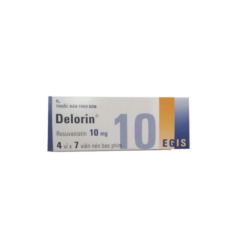 Delorin 10mg Hộp 28 Viên
