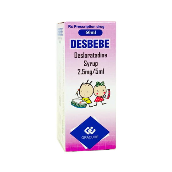 Desbebe Lọ 60ml - Thuốc Điều Trị Dị Ứng