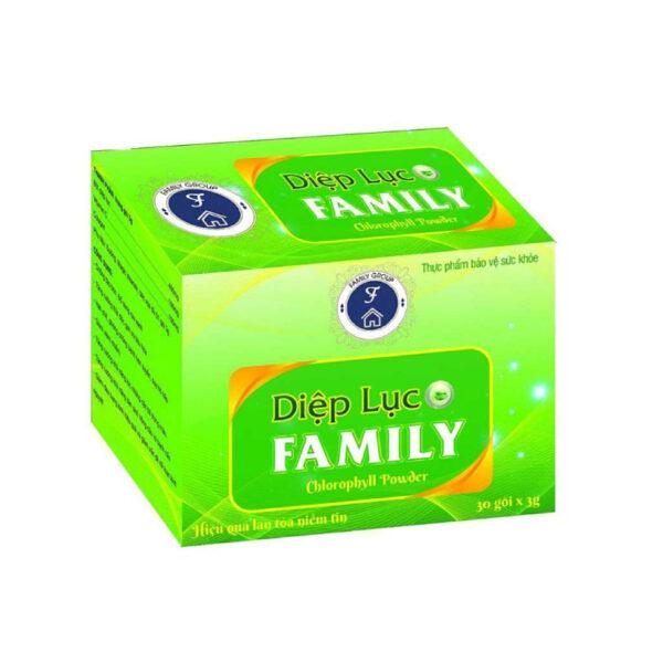 Diệp Lục Family - Hộp 30 Gói - Cung Cấp Chất Dinh Dưỡng