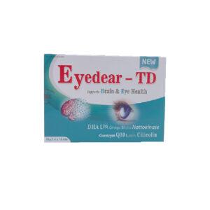 EYEDEAR-TD Hộp 30 Viên - Hỗ Trợ Sức Khỏe Não Và Mắt