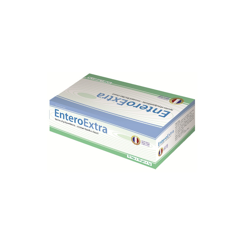 EnteroExtra Hộp 100 Gói - Điều Trị Rối Loạn Tiêu Hóa