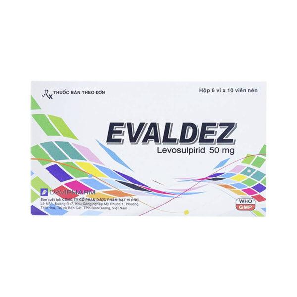 Evaldez Hộp 60 Viên - Giảm Triệu Chứng Khó Tiêu Chức Năng