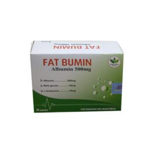 FAT BUMIN Hộp 30 Viên - Bổ Sung Các Acid Amin