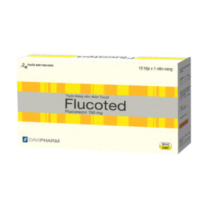 Flucoted Hộp 60 Viên - Thuốc Trị Nấm Hiệu Quả