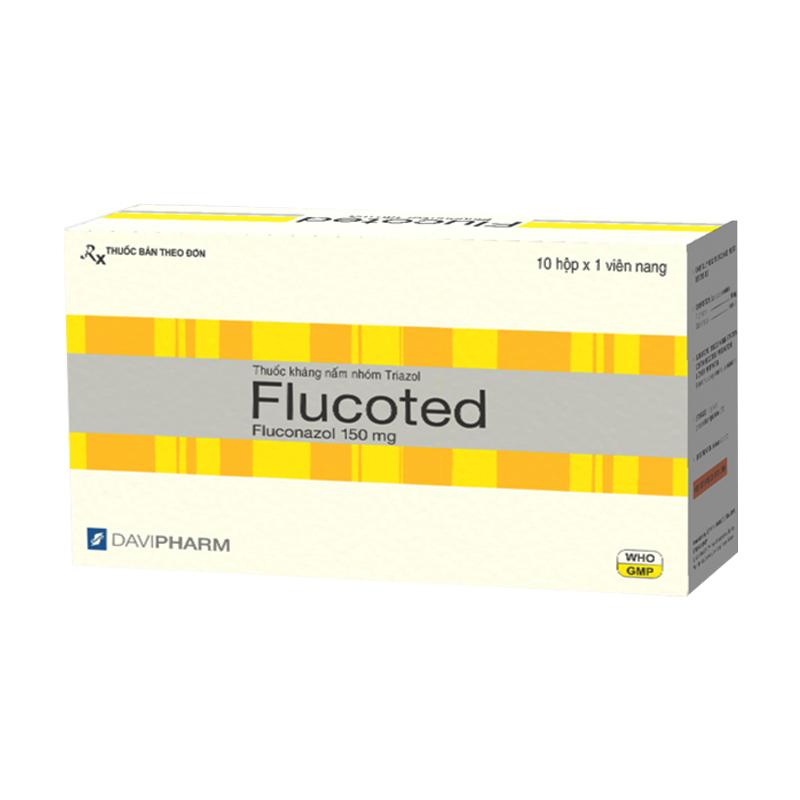 Flucoted Hộp 60 Viên