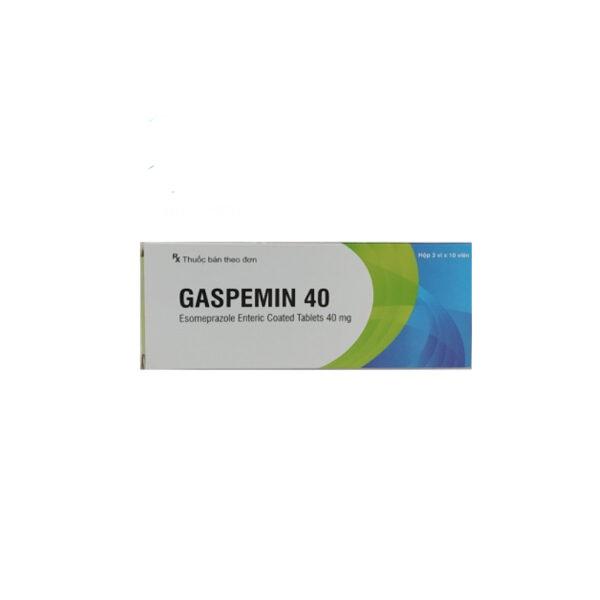 Thuốc Gaspemin 40 - Hộp 30 Viên - Điều Trị Trào Ngược Dạ Dày