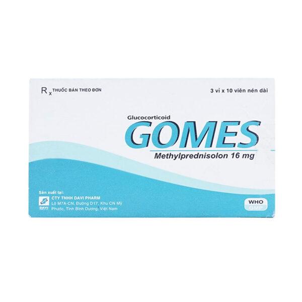 Gomes 16mg Hộp 30 Viên - Điều Trị Lupus Ban Đỏ