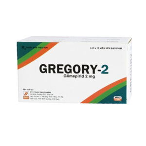 Gregory-2 Hộp 60 Viên - Thuốc Tiểu Đường