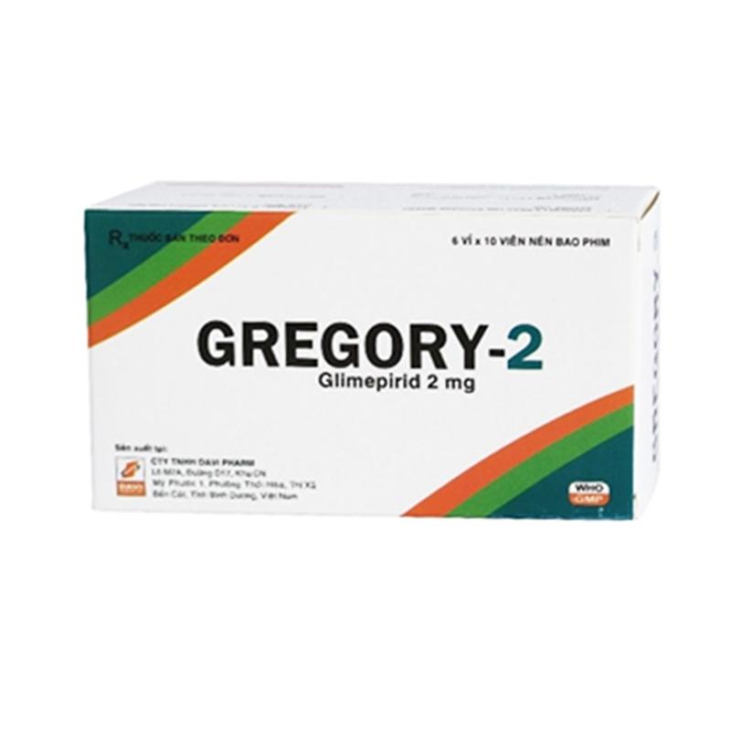 Gregory-2 Hộp 60 Viên