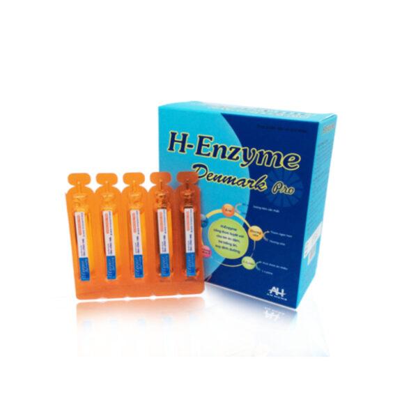 H-Enzyme Denmark Pro Hộp 20 Ống - Ăn Ngon, Tăng Hấp Thu