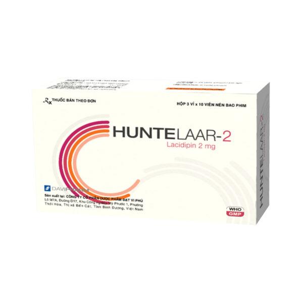 HUNTELAAR-2 Hộp 30 Viên - Thuốc Trị Cao Huyết Áp