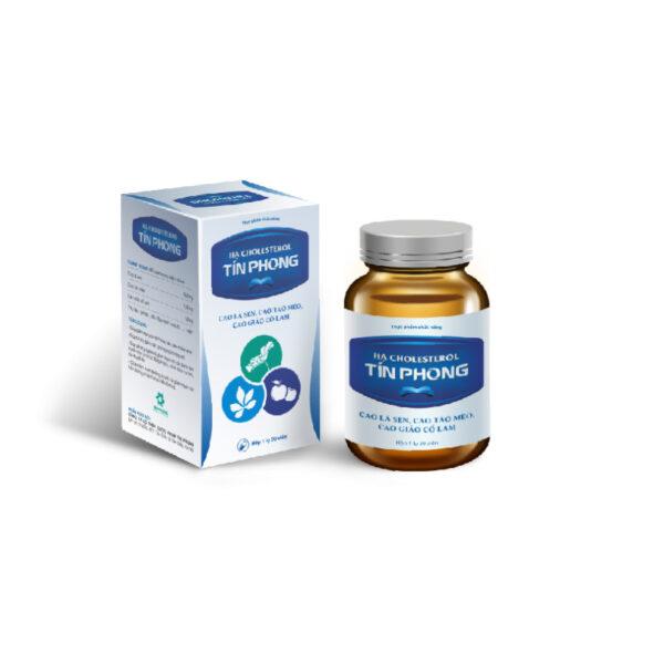 Hạ Cholesterol Tín Phong Lọ 30 Viên - Phòng Ngừa Bệnh Tim Mạch