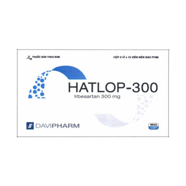 Hatlop-300 Hộp 60 Viên - Điều Trị Huyết Áp Cao