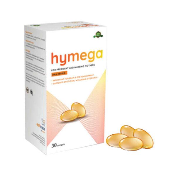 Hymega Hộp 30 Viên - Bổ Sung DHA, EPA, Vitamin E Cho Cơ Thể