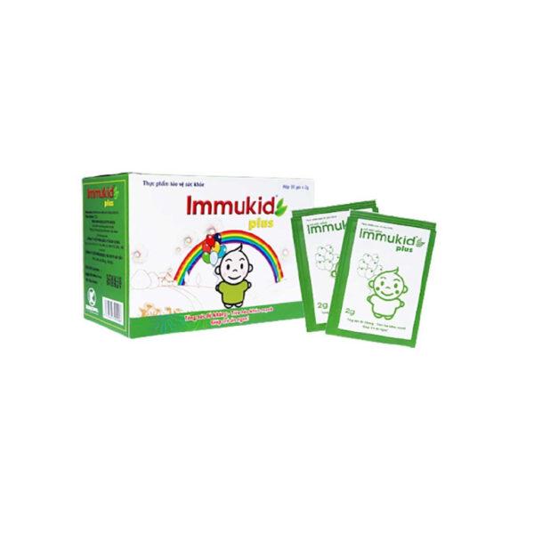 Immukid Plus Hộp 30 Gói - Tăng cường Miễn Dịch