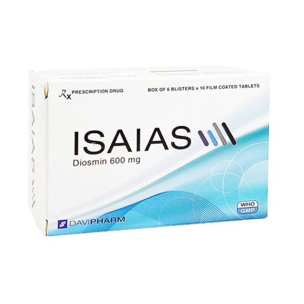 Isaias Hộp 60 Viên - Điều Trị Cơn Trĩ Cấp