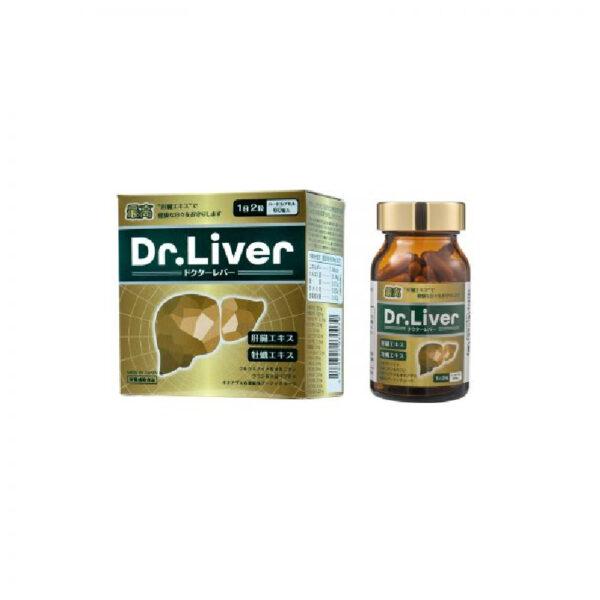 Jpanwell Dr.Liver Hộp 60 Viên - Tăng Cường Chức Năng Gan