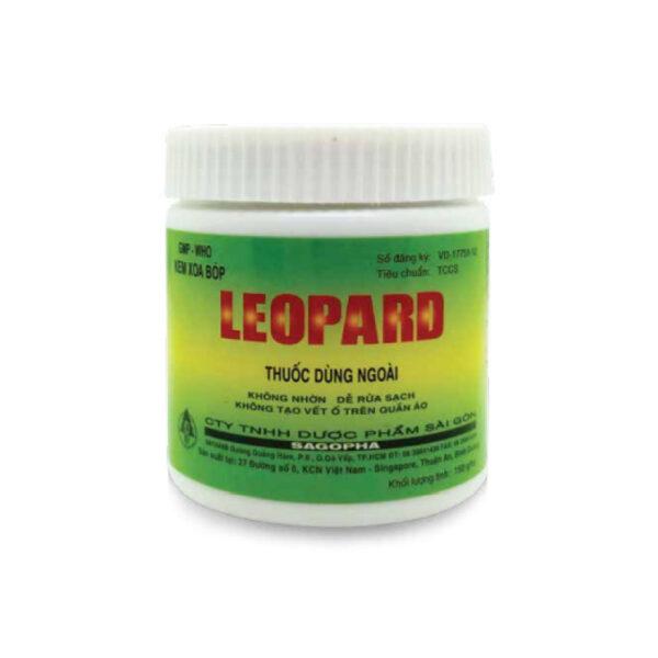 Kem Xoa Bóp Leopard Hũ 150g - Điều Trị Trật Và Bong Gân