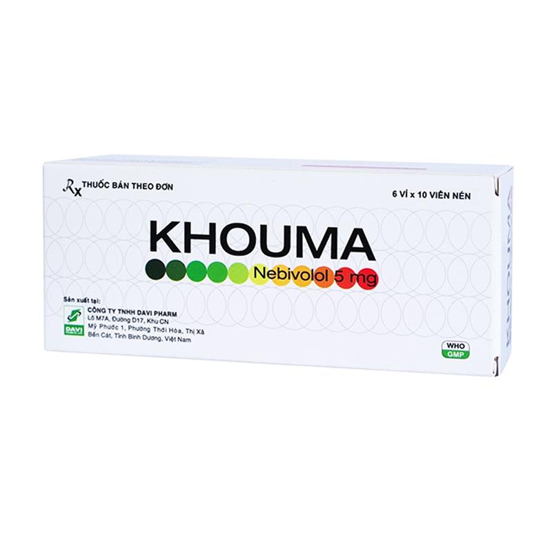 Khouma 5mg Hộp 60 Viên