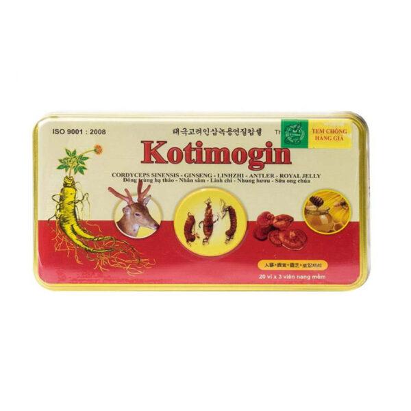 Kotimogin Hộp 60 Viên - Tăng Cường Sức Khỏe