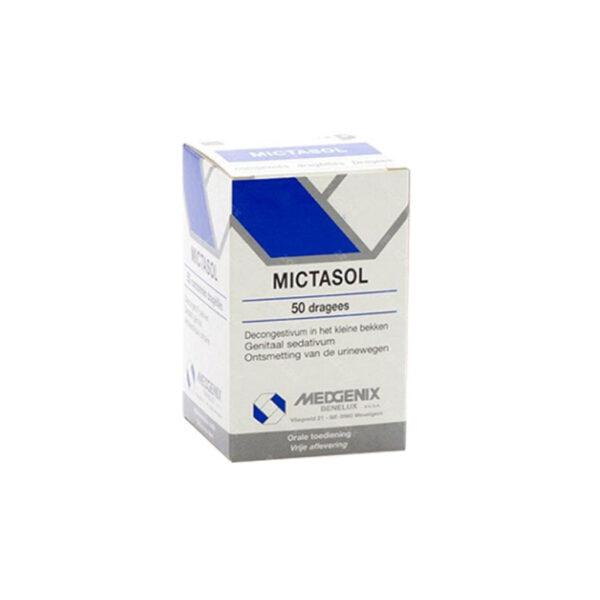 Thuốc Mictasol - Hộp 50 Viên - Điều Trị Nhiễm Trùng Tiết Niệu
