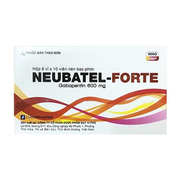 NEUBATEL-FORTE Hộp 60 Viên - Thuốc Chống Động Kinh