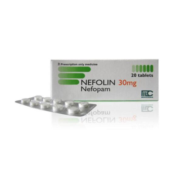 Nefolin 30mg Hộp 20 Viên - Thuốc Giảm Đau