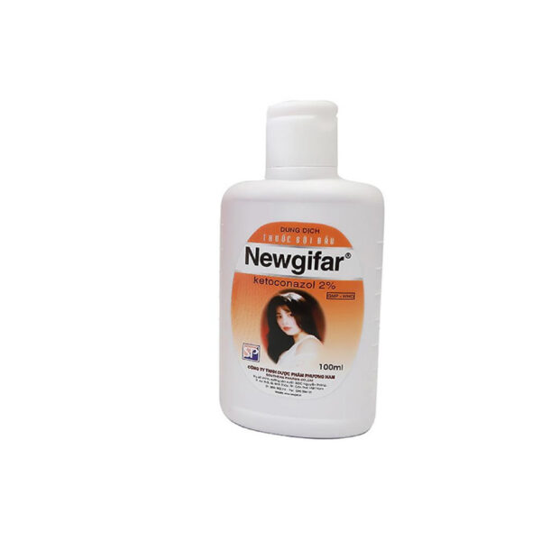 Thuốc Gội Đầu Newgifar - Chai 100ml - Điều Trị Viêm Da Đầu