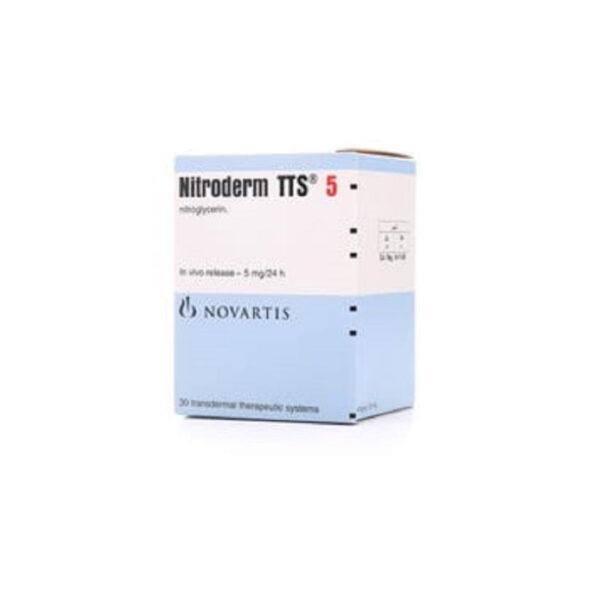 Nitriderm TTS 5 Hộp 30 Miếng - Giảm Đau Thắt Ngực