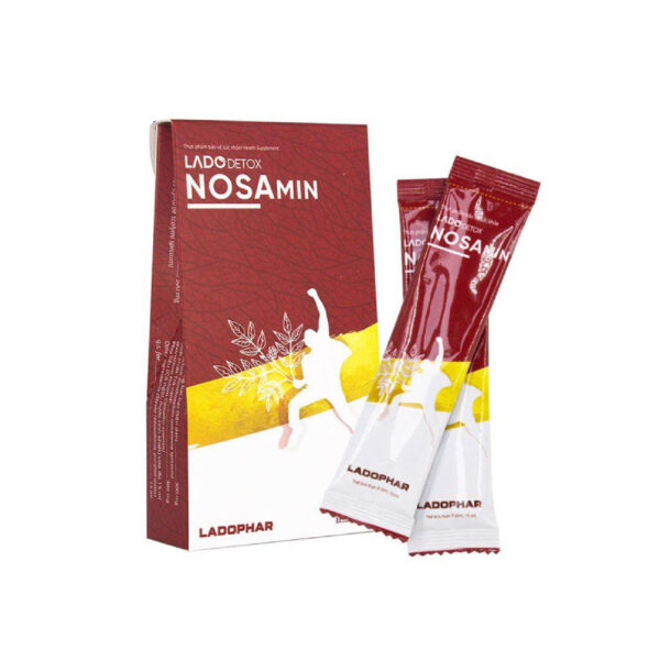 Nosamin Ladophar - Hộp 10 Gói - Bảo Vệ Tế Bào Gan