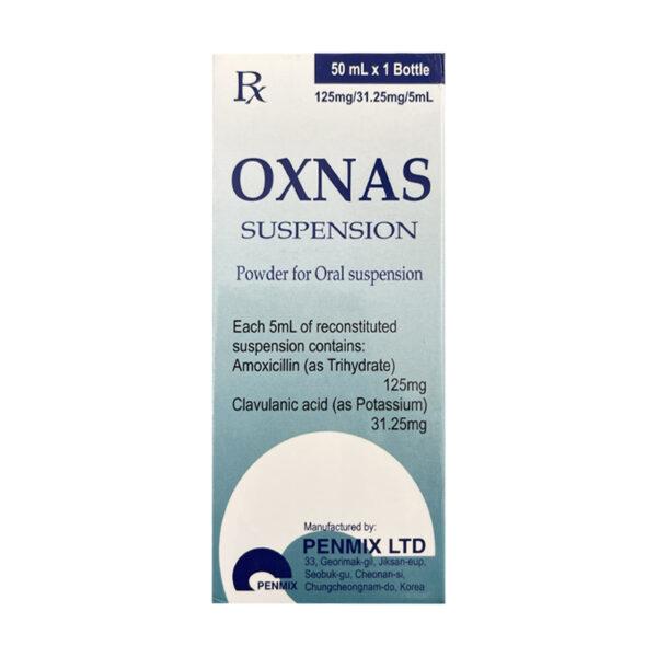 Oxnas Suspension Chai 50ml - Điều Trị Nhiễm Khuẩn