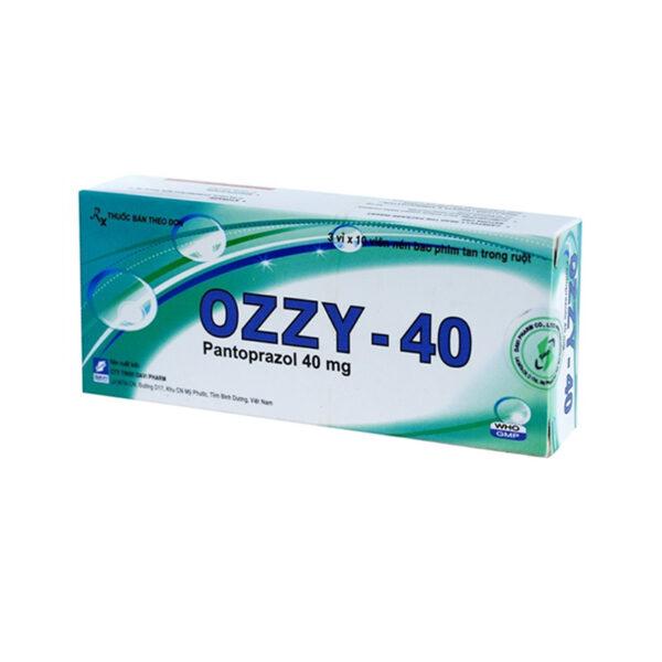Ozzy-40 Hộp 30 Viên - Điều Trị Loét Đường Tiêu Hóa