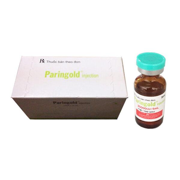 Paringold Injection Hộp 10 Lọ - Phòng Và Điều Trị Huyết Khối
