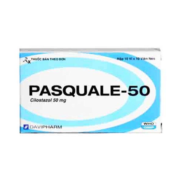 Pasquale-50 Hộp 100 Viên - Phòng Ngừa Nhồi Máu Não Tái Phát