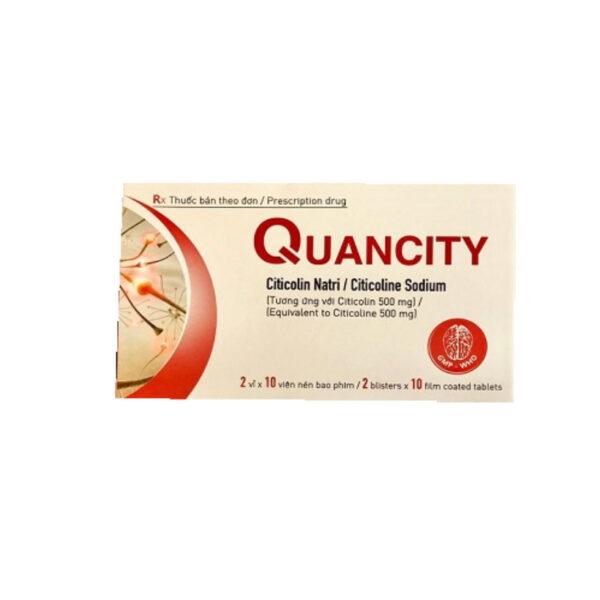 Thuốc Quancity - Hộp 20 Viên - Trị Chứng Rối Loạn Lo Âu